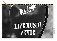 Nashville Music City Sign Carry-all Pouch