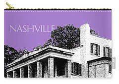 Nashville Skyline Belle Meade Plantation - Violet Carry-all Pouch