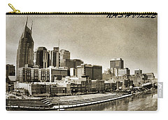 Nashville Tennessee Carry-all Pouch by Dan Sproul