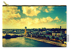 Nassau The Bahamas Carry-all Pouch by Paulo Guimaraes
