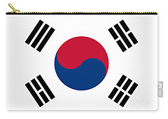 National Flag Of South Korea Authentic  Carry-all Pouch