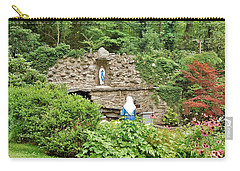National Shrine Grotto Of Our Lady Of Lourdes Carry-all Pouch