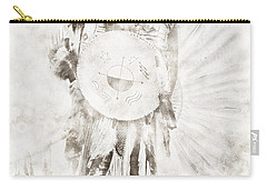 Carry-all Pouch featuring the digital art Native American by Erika Weber
