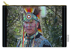 Native American Portrait Carry-all Pouch
