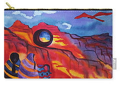 Native Women At Window Rock Carry-all Pouch