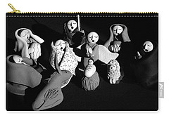 Carry-all Pouch featuring the photograph Nativity Earthenware by Ron White