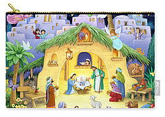 Nativity For Children Carry-all Pouch