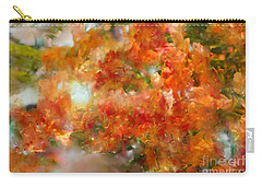 Natural Abstractions #12 The Orange Tree Carry-all Pouch