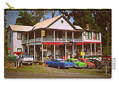 Carry-all Pouch featuring the photograph Natural Bridge Station by Victor Montgomery