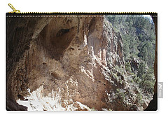 Natural Bridge View Carry-all Pouch by Kerri Mortenson