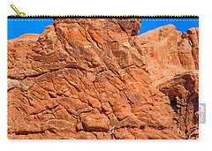 Carry-all Pouch featuring the photograph Natural Sculpture by John M Bailey