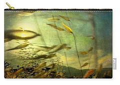 Carry-all Pouch featuring the photograph Nature #12. Strong Wind by Alfredo Gonzalez