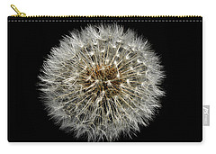 Carry-all Pouch featuring the photograph Nature Clock by Liz  Alderdice