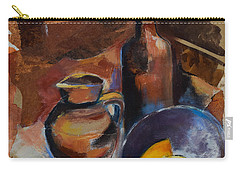 Still Life Sepia Carry-all Pouch by Elise Palmigiani