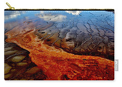 Carry-all Pouch featuring the photograph Natureprint by Benjamin Yeager