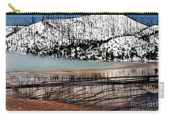 Nature's Mosaic I Carry-all Pouch by Sharon Elliott