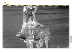 Carry-all Pouch featuring the photograph Nature's Ornament by Nina Silver