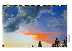 Carry-all Pouch featuring the photograph Nature's Palette by Barbara Chichester