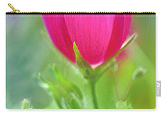 Carry-all Pouch featuring the photograph Natures Winecup South Texas by Dave Welling