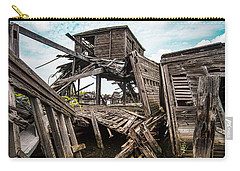 Nautical - Shipwreck - Collapsed Pier Carry-all Pouch