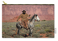 Navajo Cowboy Carry-all Pouch by Diane Bohna