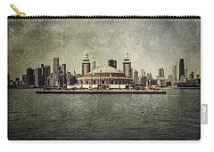 Navy Pier Carry-all Pouch by Andrew Paranavitana
