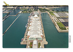 Navy Pier Chicago Aerial Carry-all Pouch