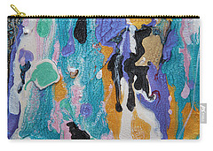 Near Sea Colorful Abstract Painting Carry-all Pouch