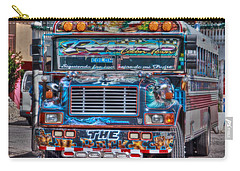 Neat Panamanian Graffiti Bus  Carry-all Pouch