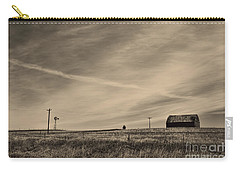 An Abandoned Nebraska Barn Carry-all Pouch