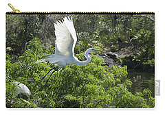 Need More Branches Carry-all Pouch by Carolyn Marshall