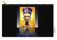 Nefertiti  The  Beautiful Carry-all Pouch