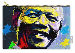 Nelson Mandela Madiba Carry-all Pouch by Anthony Mwangi