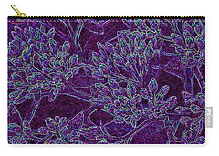 Neon Blossoms Carry-all Pouch