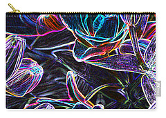 Neon Lilies Carry-all Pouch