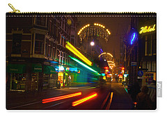 Neon Tram Leidestraat Carry-all Pouch by Jonah  Anderson