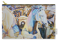 Neptune's Sea Horses - Florence Carry-all Pouch