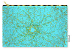 Nerves Green Blue Carry-all Pouch