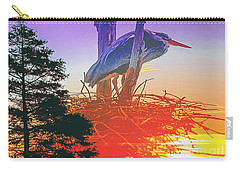 Nesting Heron - Summer Time Carry-all Pouch