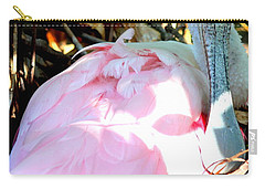 Nesting Spoonbill Carry-all Pouch by Carol Groenen