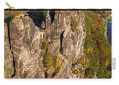 Neurathen Castle In The Saxon Switzerland Carry-all Pouch