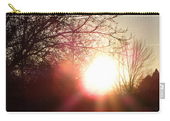 Nevada Sunset Carry-all Pouch by Bobbee Rickard