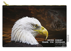 Never Forget - Memorial Day Carry-all Pouch