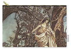 Magical Forest Drawings Carry-All Pouches