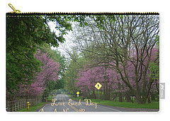 Carry-all Pouch featuring the photograph New Beginning by Aimee L Maher Photography and Art Visit ALMGallerydotcom