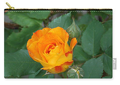 New Bloom Carry-all Pouch by Catherine Gagne