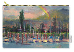 New Covenant - Rainbow Over Marina Carry-all Pouch