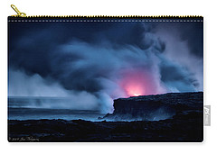 Carry-all Pouch featuring the photograph New Earth by Jim Thompson