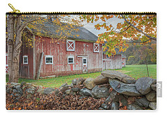 New England Barn Carry-all Pouch by Bill Wakeley