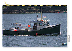 Carry-all Pouch featuring the photograph New England Fishing Boat by Denyse Duhaime